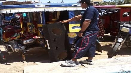 Decomisarán equipos de radio a mototaxistas que escuchen música en alto volumen