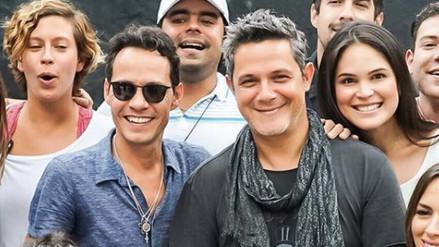 Alejandro Sanz y Marc Anthony presentan su primer tema a dúo
