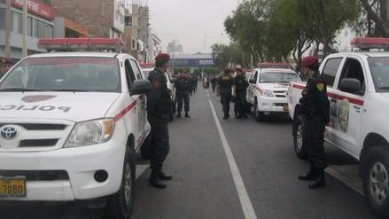 Fiestas Patrias: cuatro mil policías en alerta ante eventualidades