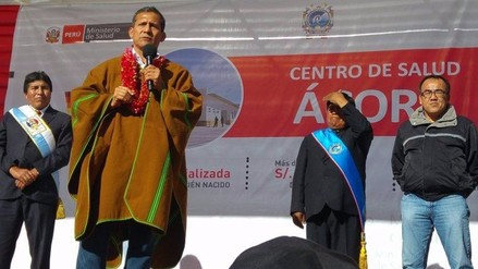 Presidente Ollanta Humala llegará a Puno para entrega de ayuda humanitaria