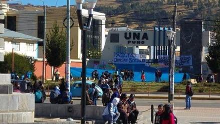 Por segundo día estudiantes tomaron instalaciones de la UNAP