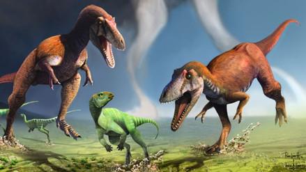 Descubren dinosaurio con los mismos brazos cortos del T. Rex