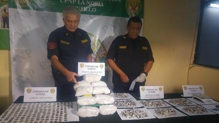 Huanchaco: intervienen a comercializador de droga con PBC