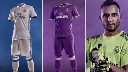 Real Madrid: conoce al detalle su nueva indumentaria para temporada 2016/17
