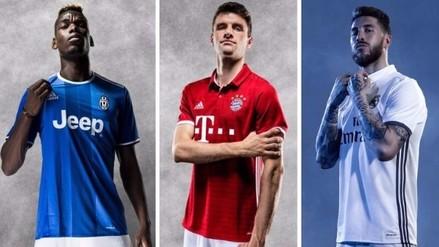 Fotos: camisetas de los clubes top de Europa para la temporada 2016/17