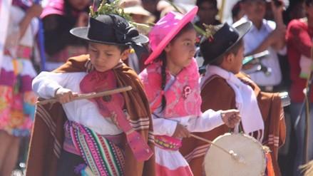 Huancayo: con pasacalle infantil se inicia la festividad del 'Tayta Shanty'