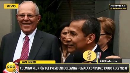 """Ollanta Humala y PPK destacan """"transferencia ordenada"""" de gobierno"""