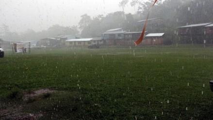 Octavo friaje en la selva se presentará con lluvias de moderada intensidad