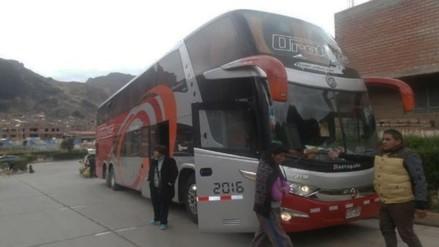 Roban equipajes valorizados en más de S/. 9 mil de bus interprovincial