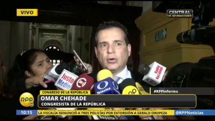 """Omar Chehade: """"ha habido un jefe de Estado débil, frágil y pusilánime"""""""
