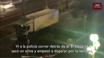 VIDEO. El testimonio del hombre que grabó la muerte del terrorista de Niza