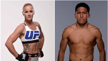Valentina Shevchenko y Enrique Barzola representarán al Perú en la UFC