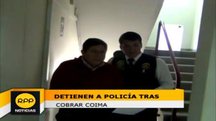 Chimbote: detienen a policía por recibir coima