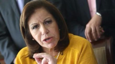 Lourdes Flores elogia la designación de Pérez Tello en cartera de Justicia