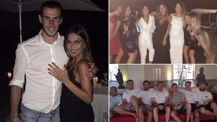 Instagram: Gareth Bale le propuso matrimonio a su novia Emma Rhys-Jones