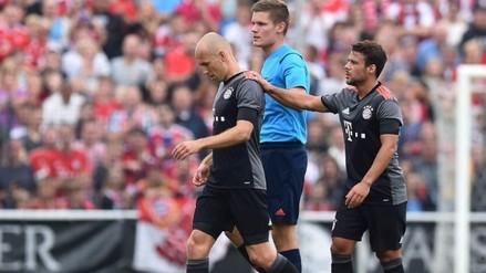 Bayern Munich: Arjen Robben se lesionó (una vez más) y será baja 6 semanas