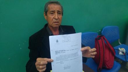 Ciudadano de 79 años denuncia agresión de policías