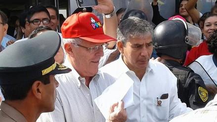 Pedro Pablo Kuczynski culmina visita tras reunión con alcaldes de Piura