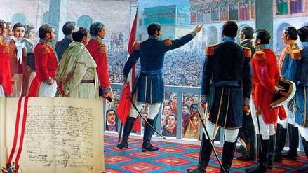 Video: así es el acta que decretó la Independencia del Perú en 1821
