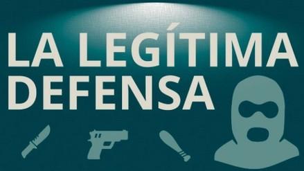 ¿Qué situaciones tipifican como legítima defensa? / INFOGRAFÍA