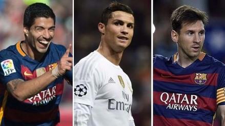 Cristiano y Lionel Messi entre los 10 candidatos al Mejor Jugador de Europa