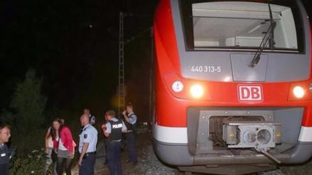 Afgano de 17 años es identificado como el atacante de tren en Alemania