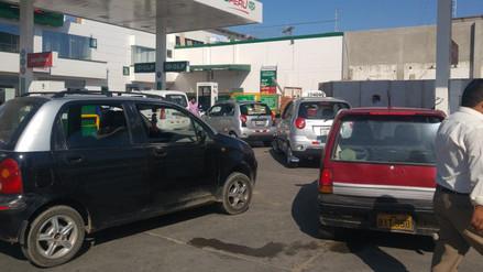Transportistas lambayecanos piden fiscalizar grifos por escasez y alza de GLP