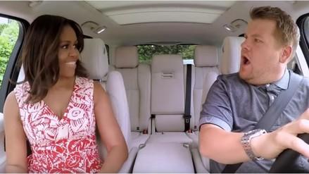 Michelle Obama cantará con James Corden