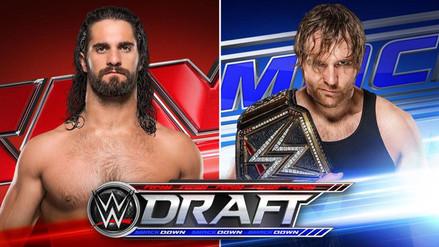 WWE Draft 2016: los principales jales de las marcas RAW y SmackDown
