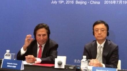 Alejandro Toledo confía en que PPK logrará estrechar relación con China
