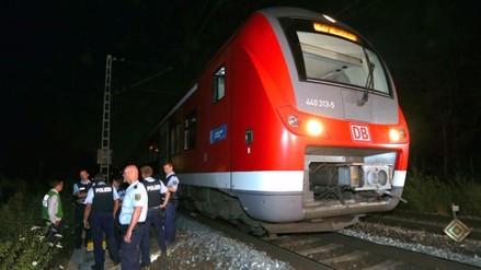 Autor del ataque en tren en Alemania aseguró que era un