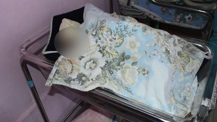 Huancayo: policías encontraron en una caja a recién nacida