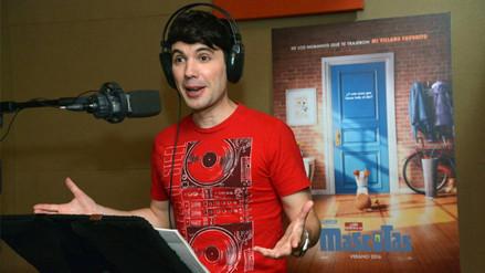 Facebook: Bruno Pinasco presta su voz a un cuy en cinta animada