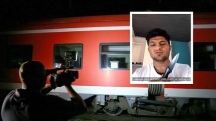 Estado Islámico se adjudica ataque de muchacho afgano en tren de Alemania