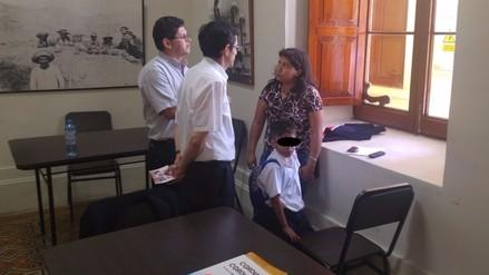 Demuna intervino a mujer que agredió a su niño por perder una cartuchera