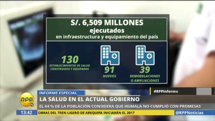 Video: esta es la herencia que Ollanta Humala le deja a PPK en Salud