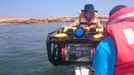 Peruanos construyen robot acuático para vigilancia submarina