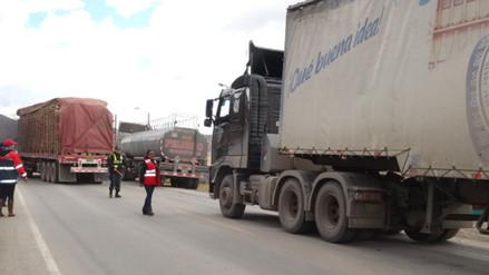 Junín: anuncian restricción de vehículos pesados por Carretera Central