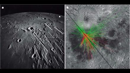 NASA recrea un impacto en la Luna hace 3.800 millones de años