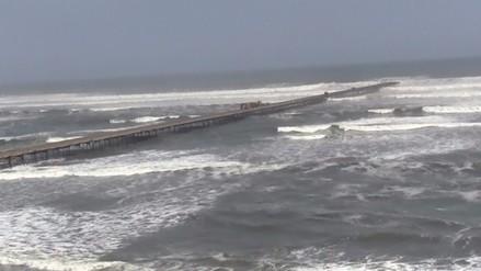 Puertos y caletas lambayecanos se mantienen cerrados por oleajes irregulares