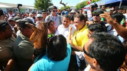 Presidente Humala colocó primera piedra en Hospital de Pucallpa
