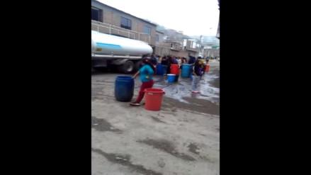 VMT: Falta de agua afecta a vecinos desde hace tres días