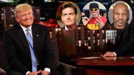 Conoce a las celebridades que apoyan la candidatura de Donald Trump