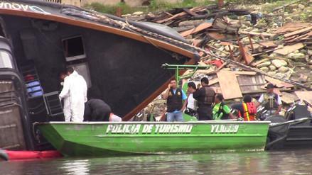 Iquitos: encuentran quinta víctima de explosión en embarcación