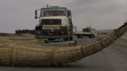 Huanchaco: pescadores rechazan construcción de carretera