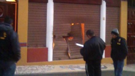 Detonaron explosivos en vivienda y hotel de congresista electo de Fuerza Popular