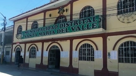 Delincuentes amenazan nuevamente a alcalde de Santa María del Valle