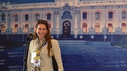 Fanny Vera, líder peruana en EE UU, presente en toma de mando de PPK