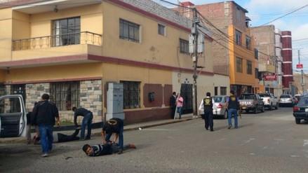 Trujillo: un herido y cinco detenidos deja balacera entre policías y hampones