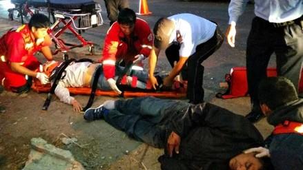 Trujillo: padre e hija gravemente heridos tras ser embestidos por automóvil
